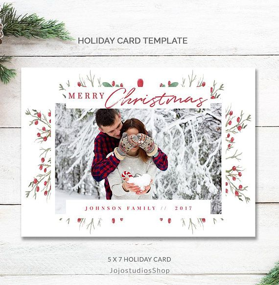 Family Christmas Card Instant Download Printable Christmas Cards Template 5x7 Christmas Card Template Modern Holiday Cards Photo Mc188 In 2021 Family Christmas Card Photos Christmas Card Template Pretty Christmas Cards