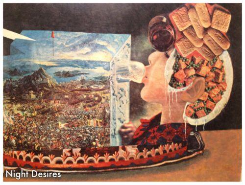 Night Desires - Salvador Dali