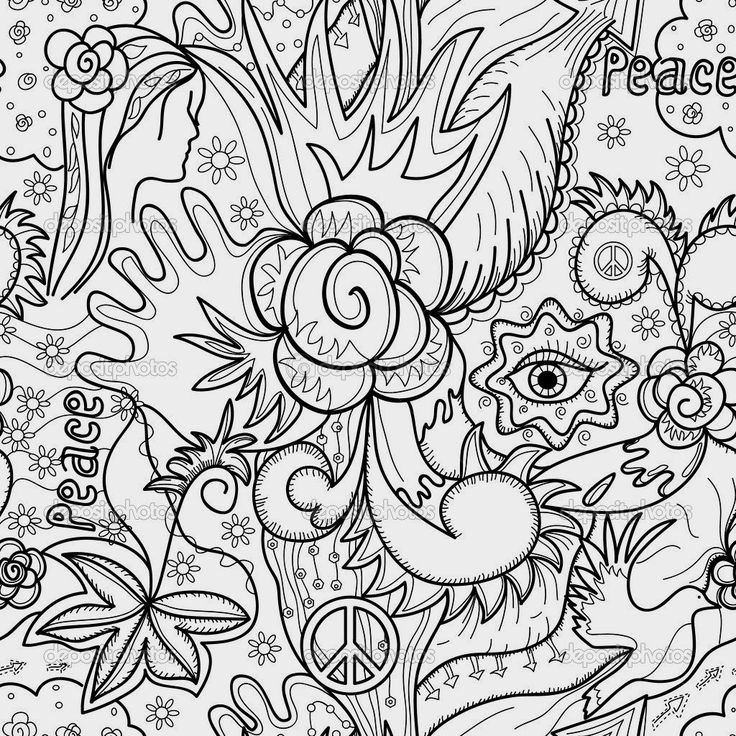 283 best coloring pages images on pinterest | coloring sheets ... - Coloring Pages Abstract Designs