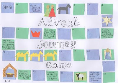 Flame: Creative Children's Ministry: Advent Journey Game: Print and Play