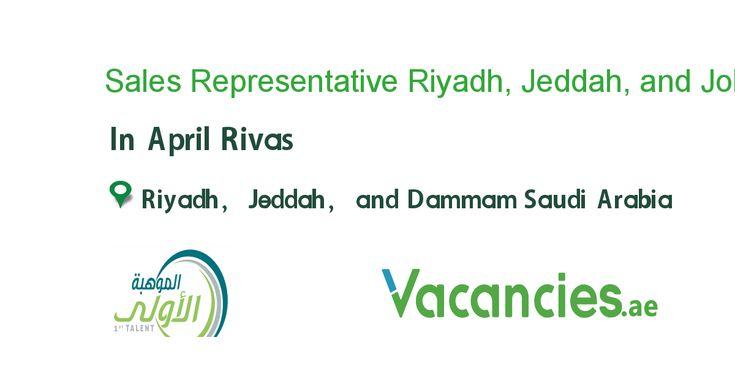 Sales Representative Riyadh Jeddah And Dammam Business Development Jeddah Software Sales