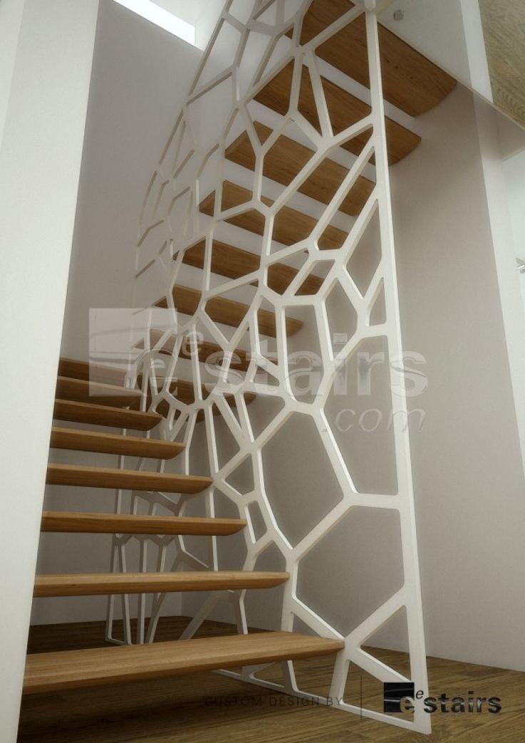 Les 25 meilleures id es de la cat gorie garde corps sur - Cage d escalier exterieur ...