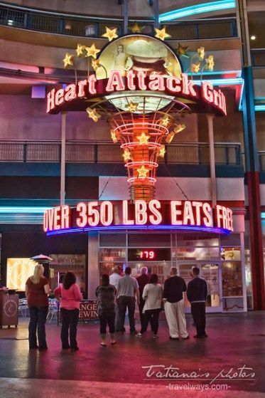 Heart Attack Grill Scale - Over 350 lbs eats free
