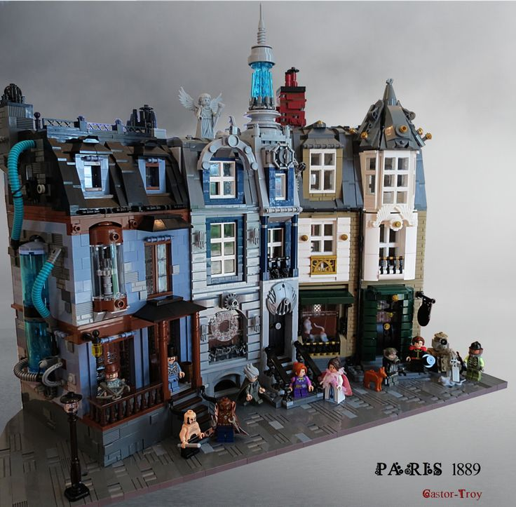 Paris 1889 Stempunk The Blue Meth, The house of time and The rats exterminators | by CASTOR-TROY