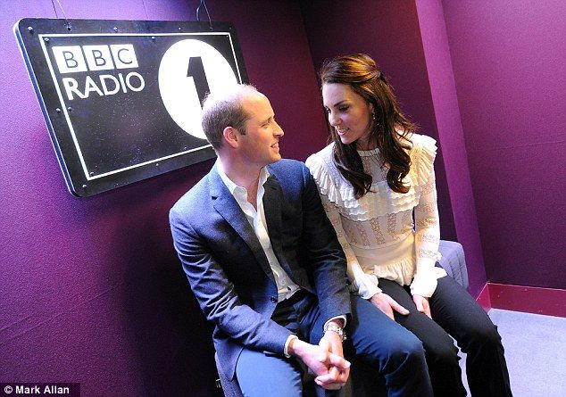 While visiting Radio 1, The Duke and Duchess of Cambridge made an appearance on Scott Mills' show