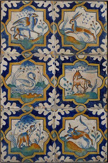 Renaissance Dutch tiles by Kiriel