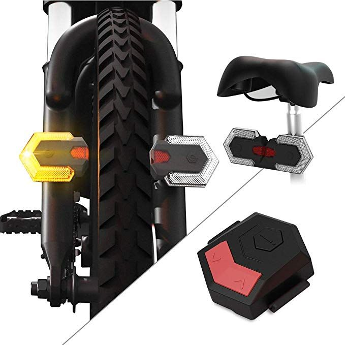 Carthree Bike Turn Signals Front And Rear Light With Remote
