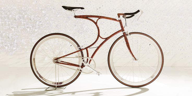 Vanhulsteijn, creators of special handcrafted bicycles, introduces the Urushi bicycle.