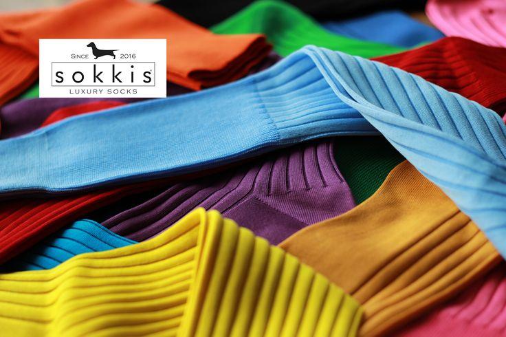 Luxury socks  100% Fil d'ecosse