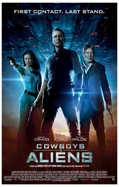 Cowboys and Aliens First Contact Last Stand Movie Poster 11x17