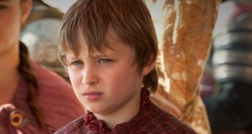 Tommen Baratheon 1.0, played by Callum Wharry