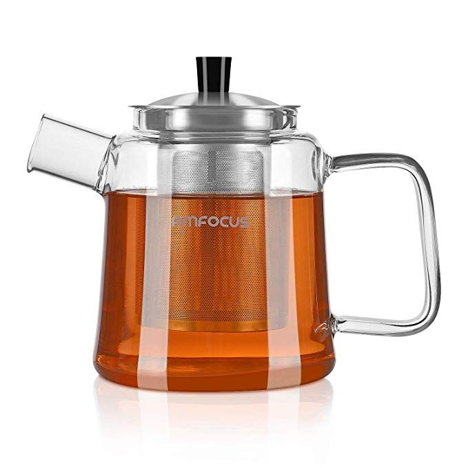 Glass Teapot With Infuser Blooming And Loose Leaf Tea Pot Tea