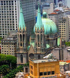 Torres e Cúpula da Catedral da Sé - São Paulo
