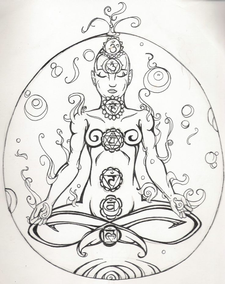 1000 images about chakras on pinterest yoga poses tree for Meditation coloring pages