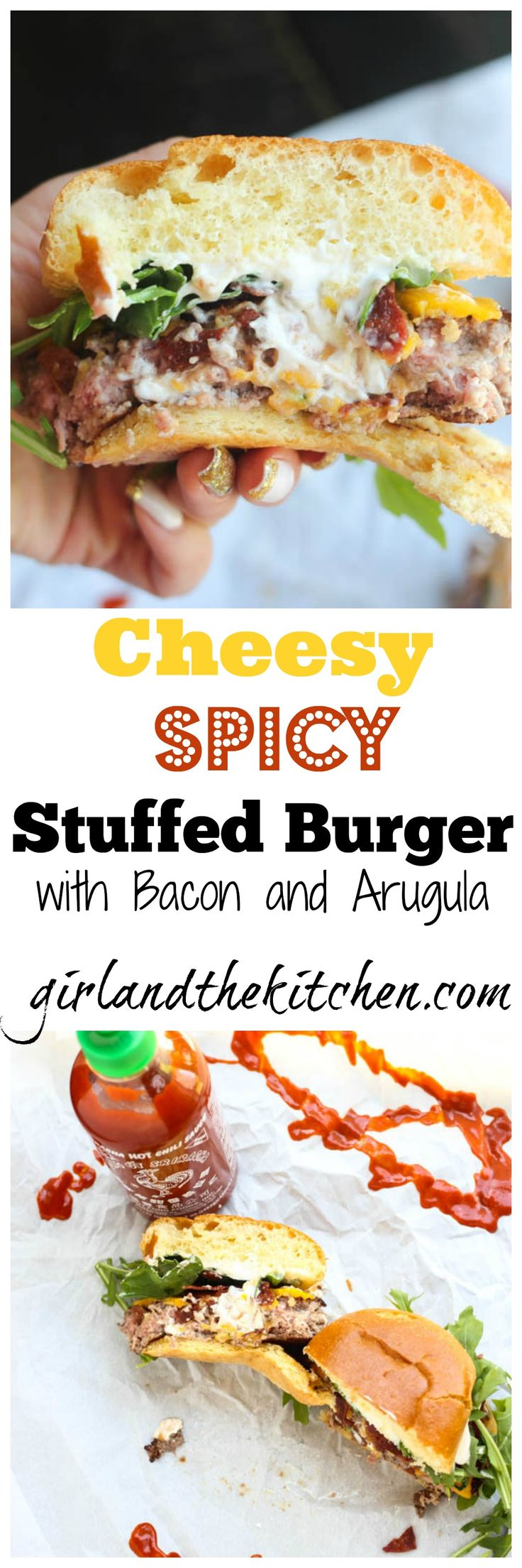 Stuffed Burger Recipes on Pinterest | Burger Recipes, Cheese Stuffed ...