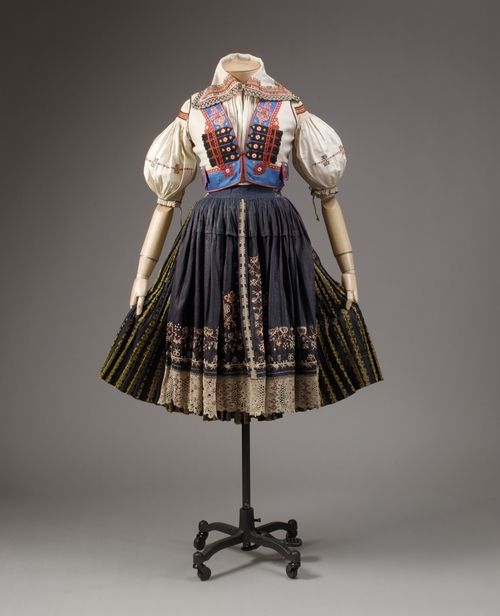 Czech costume. I had one as a child, but not nearly as elaborate as this one.