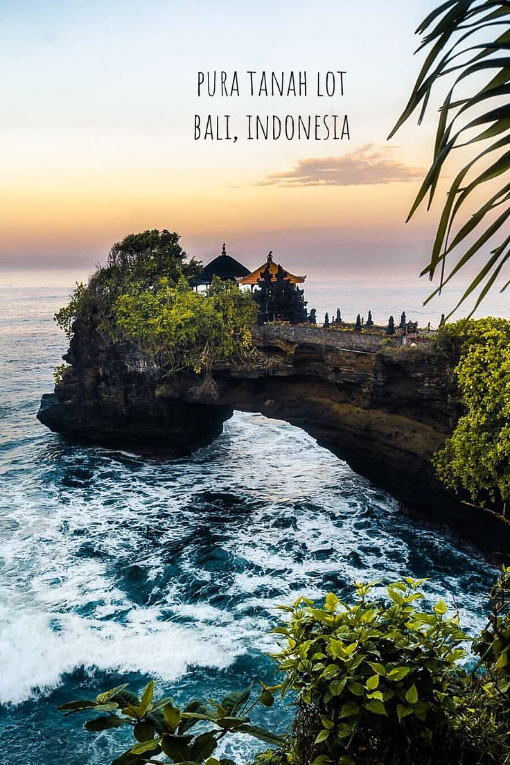 Pura Tanah Lot in Bali, Indonesia. Bali, Singapur, Sommer