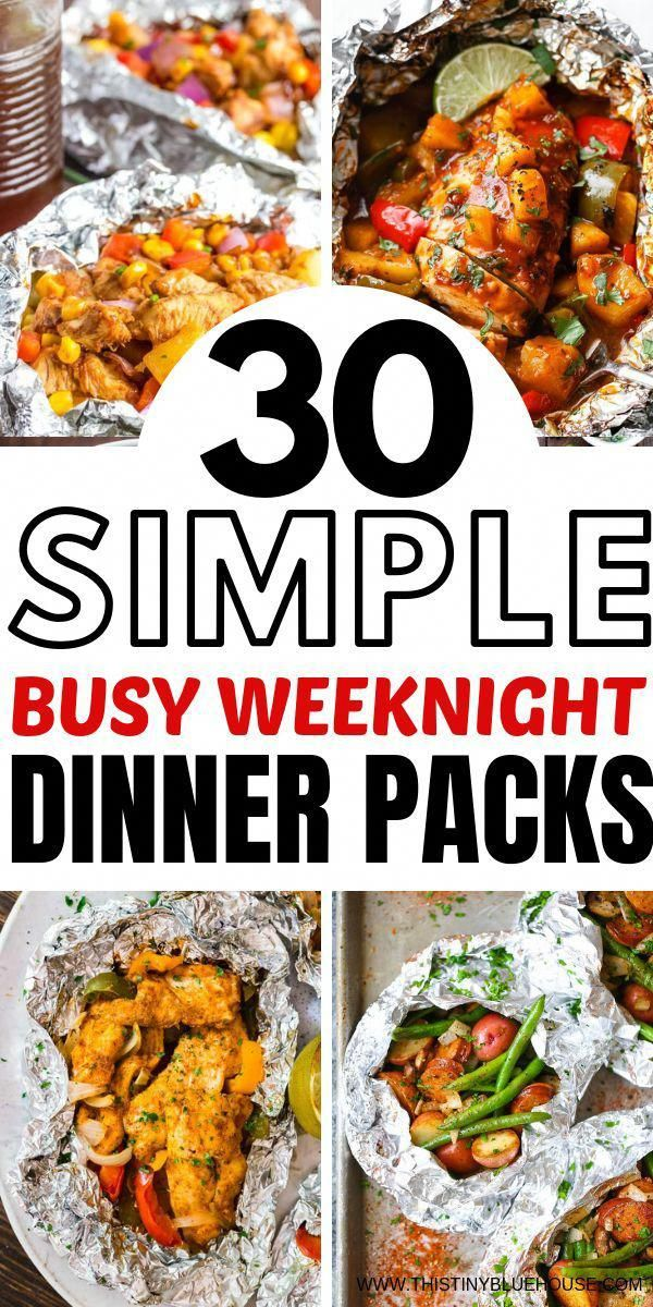 Get the oven meal at the table fast and easy with this best package of delicious aluminum foil …   – Healthy Recipes dinner
