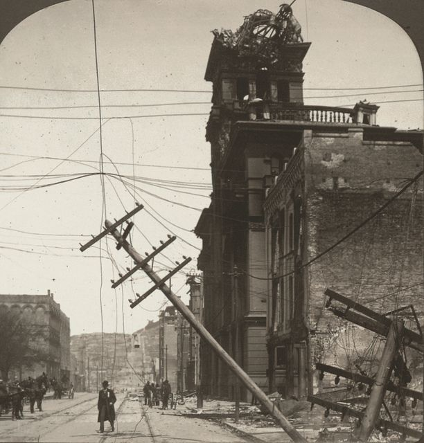 the tragedy of the earthquake in san francisco in 1906 San francisco earthquake, 1906 on the morning of april 18, 1906, a massive earthquake shook san francisco, california though the quake lasted less than a minute, its immediate impact was.