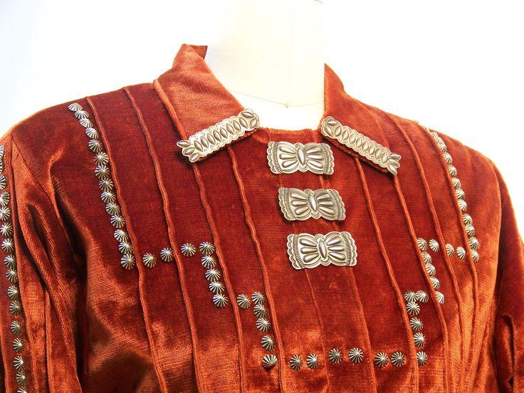 Navajo Attire   Authentic Native American Clothing   Navajo Spirit Southwestern Wear