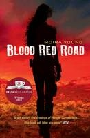 Blood Red Road by Moira Young - Every step of Saba's journey sizzles with danger... In a lawless land, where life is cheap and survival is hard, Saba has been brought up in isolated Silverlake. She never sees the dangers of the destructive society outside. When her twin brother is snatched by mysterious black-robed riders, she sets out on an epic quest to rescue him.