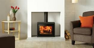 modern fire surrounds for log burners - Google Search
