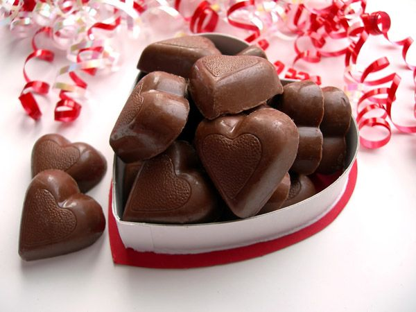 Chocolate ALWAYS works :)
