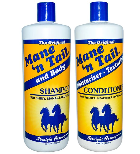 Want fuller, longer, shinier #hair? Try using Mane n Tail's Shampoo and Conditioner.  NEED