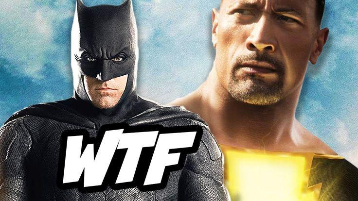 Justice League vs Black Adam and Shazam Movie Breakdown