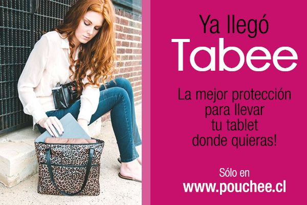 Pouchee - Tabee perfecto para la mujer de hoy!