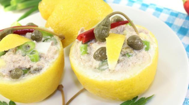Receita de patê de atum com limão