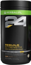 "Herbalife 24 Rebuild Strength, to view prices go to www.24-hourathlete.co.uk and register on the ""Members"" tab"