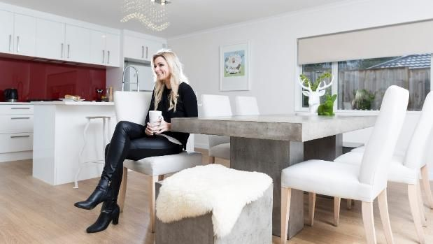 At my place: TV presenter and artist Erin Simpson