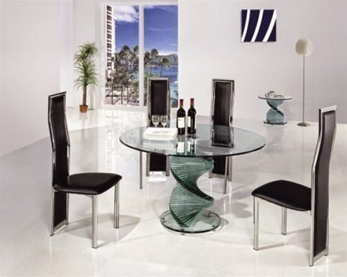 Home Genies- Home and Garden products: Glass Dining Table and Chairs Sets
