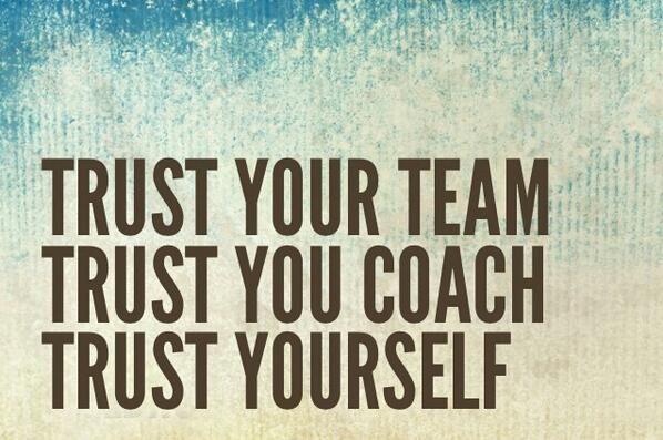 Trust Your Teammates Quotes. QuotesGram by @quotesgram
