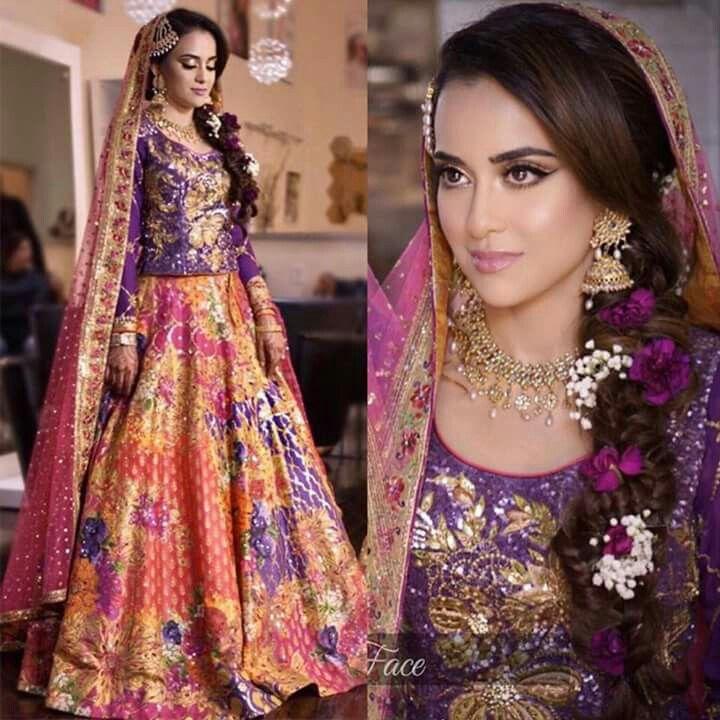 Mehndi Traditional Dresses : Best images about pakistani mehndi dresses on