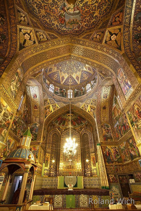 Saved from flickr.com Vank Cathedral - Esfahan, Iran
