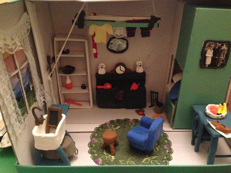 Single end diorama