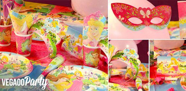 Compleanno o festa a tema principesse Disney - VegaooParty