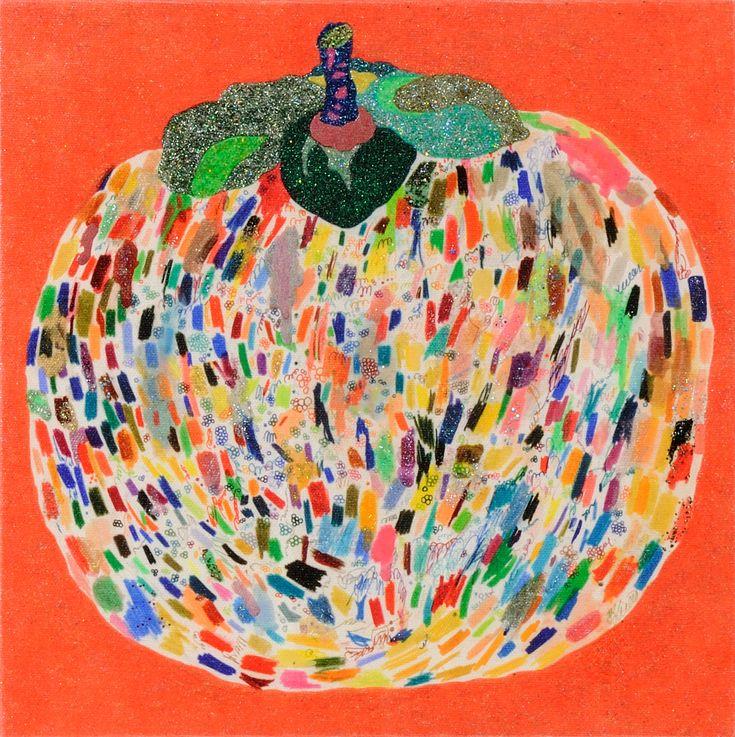 ためし柿 / Tomoaki TARUTANI #ART #Contemporary ART #POP ART #Mandala #曼荼羅