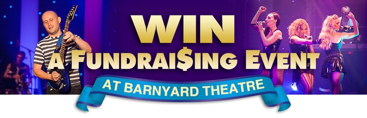 Win a free Fundraiser at Barnyard Theatre!   To ENTER visit www.barnyardtheatre.co.za/fundraising, fill in the entry form, provide information about your cause and click submit.   Entries close 31 May 2016.