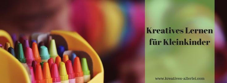 Kleinkinder wollen immer Neues entdecken und lernen. Ich zeige euch heute tolle kreative Ideen, wie kreativ man mit Kleinkindern lernen kann.