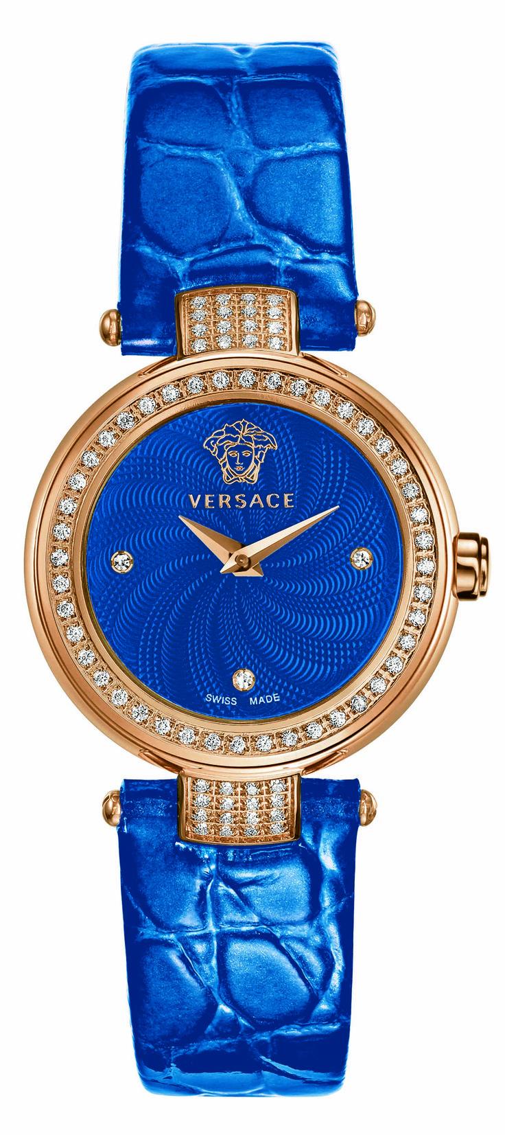 Versace Mystique Small: Blue Versace, Fashion, Cobalt Blue, Jewelry, Royal Blue, Versace Mystique, Watches, Versace Watch