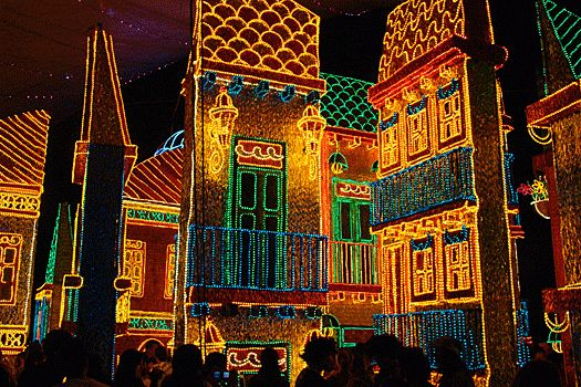 Christmas Lights in Medellin, Colombia. Photo by I.D. R.J. (Awesome Photo!)