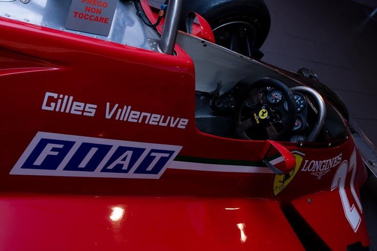1981 - Ferrari F1 126C Gilles Villeneuve