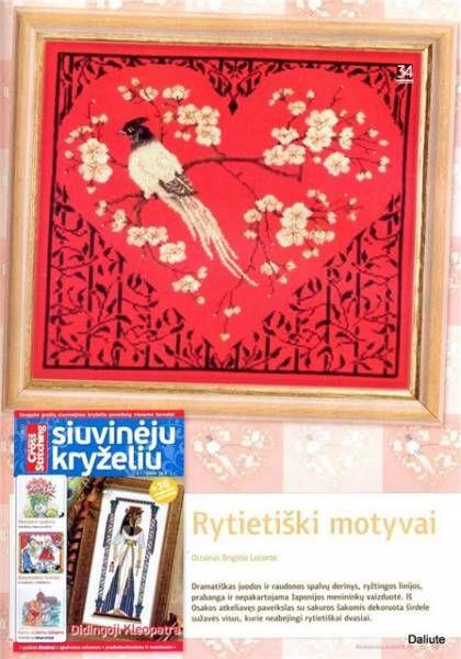 Вышивка в японском стиле - Рукодельница - ТВОРЧЕСТВО РУК - Каталог статей - ЛИНИИ ЖИЗНИ