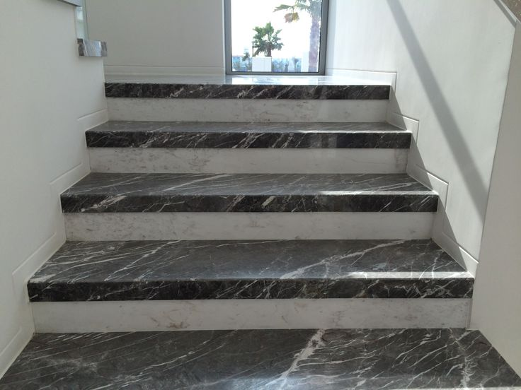 Marble Staircase Using Greek And Turkish Materials