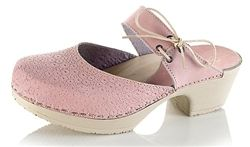 Calou Gabriella Pink Clogs, available at Northlight Homestore