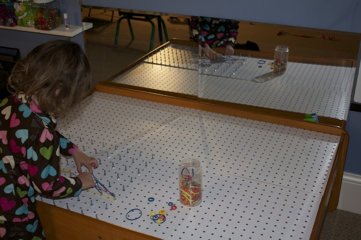 Play At Home Mom LLC: DIY Activity Table: Light Table, Light Brite, Dry Erase Board, Chalkboard, Lego Table - Upcycled from train table!!!