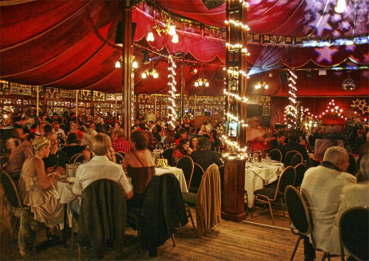 Madame zingara - from Cape Town: A tent,music, entertainment,food = FABULOUS